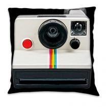 Almofada Câmera Retrô Instagram - Branco - Único - Gorila Clube