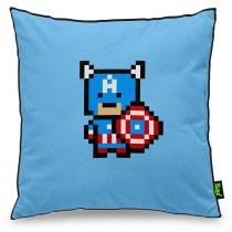 Almofada Capitão Pixel América - YAAY