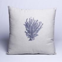 Almofada Coral Blue 50x50 - Soul Home