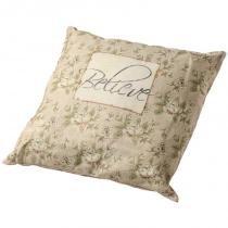 Almofada decorativa de tecido believe - Maria pia casa