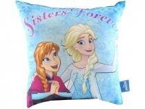 Almofada Decorativa Master Comfort Frozen - Anna e Elsa para Cama 40x40cm