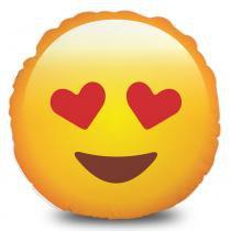 Almofada Emoji Apaixonado - Amarelo - Mobhi