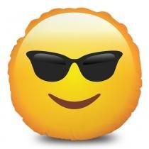 Almofada Emoji Óculos Escuros - Amarelo - Mobhi