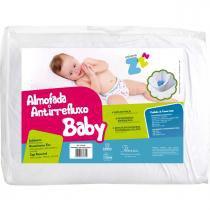 Almofada Fibrasca Antirefluxo Baby - 59x38x1/8cm -
