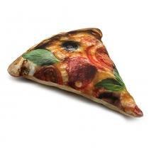 Almofada Formato Pizza - Colorido - Kathavento Presentes
