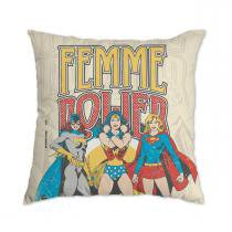 Almofada Geek: DC Comics Power Girls Femme Power - BAND UP