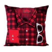 Almofada Hipster - Vermelho - Único - Gorila Clube