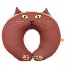 Almofada para Pescoço Gato Cacau - Dom Gato -