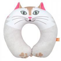 Almofada para Pescoço Infantil Gato Magali - Dom Gato -