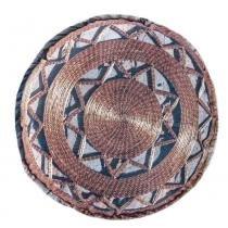 Almofada Redonda Mandala 03 - Colorido - Guga Tapetes