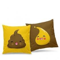 Almofadas Amigos Inseparáveis - 2 almofadas - Colorido - Único - Gorila Clube