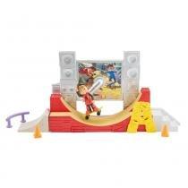 Alvin Playset Skate Radical - Mattel - Mattel