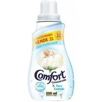 Amaciante comfort concentrado leve 500ml pague 450ml -