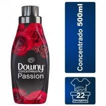 Amaciante para Roupa Downy Concentrado Passion Frasco 500 ml -
