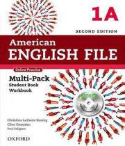 American English File 1a - Multipack With Online Practice And Ichecker - 02 Ed - Oxford