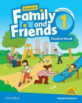 American family and friends 1 sb - 2nd ed - 9780194815857 - Oxford university