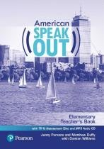 American speakout elementary tb with tr  assessment cd  mp3 audio cd - 2nd ed - Pearson/nacional