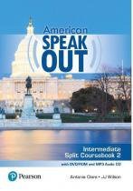American speakout intermediate sb split 2 with dvd-rom and mp3 audio cd - 2nd ed - Pearson (importado)