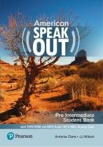 American speakout pre-intermediate sb with dvd-rom and mp3 audio cd  myenglishlab - 2nd ed - Pearson (importado)
