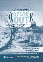 American speakout pre-intermediate tb with tr  assessment cd  mp3 audio cd - 2nd ed - Pearson (importado)