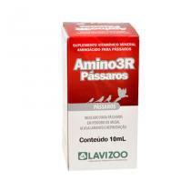 Amino 3R 10ml Pássaros Lavizoo - Suplemento Aves - Lavizoo