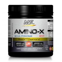 Amino-X Bcaa Powder 4:1:1 Black Diamond 300g Frutas Vermelhas MfPro - Muscle Feeder - Mf Pro - Muscle Feeder