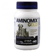 Aminomix Gold 120 comprimidos Suplemento Vitamínico - Vetnil - Descrição marketplace -
