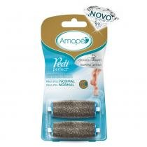 Amope pedi perfect lixas rotativas refil c/2 normal -