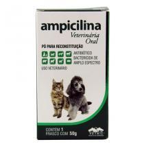 Ampicilina Antibiótico oral 50g - Vetnil - Vetnil