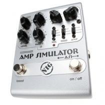 Amplificador Simulador com Três chaves Mic Mod e Amp - Nig