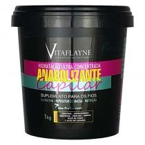 Anabolizante Capilar Hidratação Ultra Concentrada Suplemento Capilar 1Kg - Vitaflayne - Vitaflayne