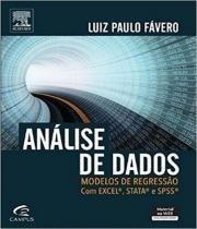 Analise De Dados - Modelos De Regressao Com Excel, Stata E Spss - Elsevier st