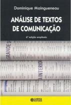 Análise de textos de comunicação -