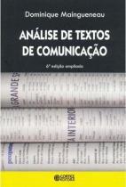 Analise de Textos de Comunicaçao - Cortez