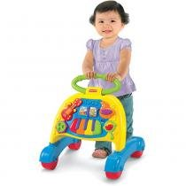 Andador Fisher Price Mattel Brilliant Basics V3254 Musical com Atividades - Mattel