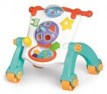 Andador Mesa Infantil Didático 3 Em 1 - Calesita -