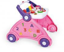 Andador para Bebê Didático Múltiplas Funções - Poliplac  - Azul -