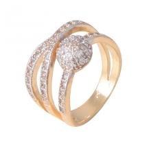 Anel hera jóias detalhes em zircônia - UNICA - ARO 18 - CRAVEJADO