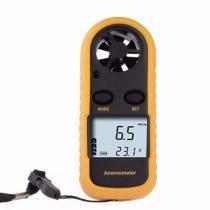 Anemometro Digital Medidor Da Velocidade Do Vento Termometro Para Drone Paraglider Kite Surf - Importado