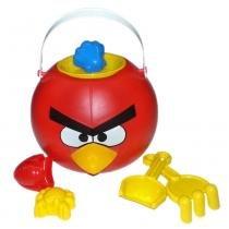 Angry birds-balde de praia rosita 9760 -