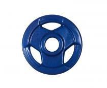 Anilha Sport Luxo Revestida - Azul - 5 Kg - Sepo - pesos