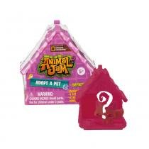 Animal Jam - Casinha Surpresa Adote um Pet - Fun - Fun