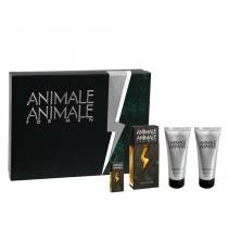 Animale For Men Animale - Masculino - Eau de Toilette - Perfume + Pós- Barba + Gel de Banho + Miniatura - Animale