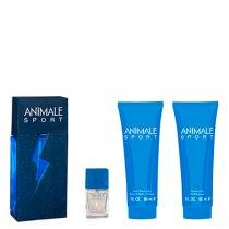 Animale Sport Animale - Masculino - Eau de Toilette - Perfume + Miniatura + Pós Barba + Gel de Banho - Animale