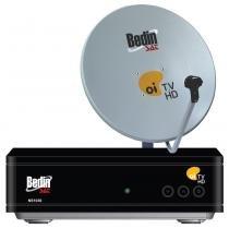 Antena  60cm com Multiponto Bedin SAT, Decoder e Cabos - Cromus -