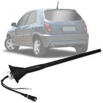 Antena Automotiva de Teto Amplificada Gm Celta Astra Corsa 2006 em diante 26 cm - Antico
