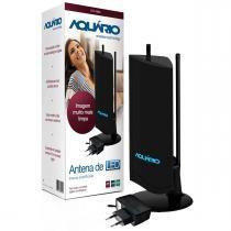 Antena Interna Amplificada Aquario DTV-4600 - Aquário