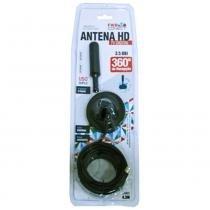 Antena Interna / Externa Hd Digital 3,5 Dbi Com Cabo 4,3m - Mega page