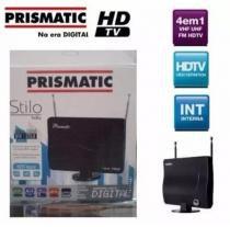 Antena Interna Prismatic Stilo 4x1 HDTV / VHF / UHF / FM - Primatic