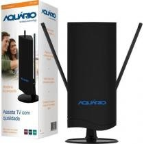 Antena interna tv vhf/uhf/fm/hdtv digital dtv4500 aquario - Aquario